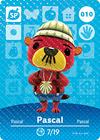 Animal Crossing Amiibo Card 010