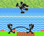 Mr game and watch melee