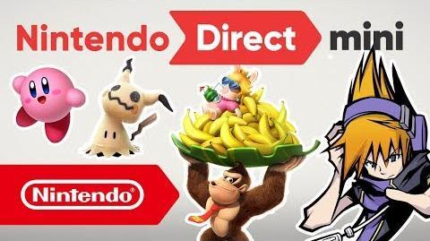 Nintendo Direct Mini - 11.01