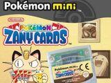 Pokémon Zany Cards
