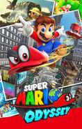 Super Mario Odyssey - Key Art 02