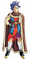 DQVI Hero fur-cape