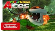 Mario Tennis Aces - Fire Piranha Plant - Nintendo Switch