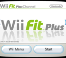 Wii Fit Plus Channel