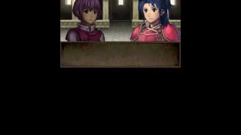 FE12 Katarina x Avatar (F) supports (Fan Translation)