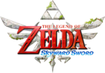 The Legend of Zelda Skyward Sword logo