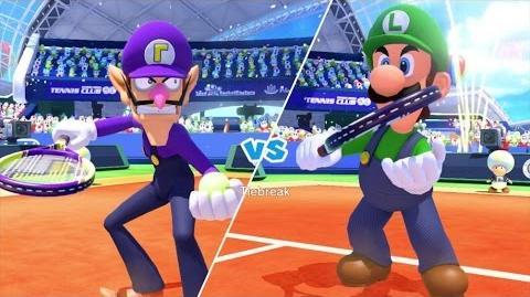 Mario Tennis Ultra Smash Walkthrough Part 9 - Knockout Challenge (Unlocking Star Waluigi)