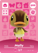 Amiibo - Card - Animal Crossing - Molly