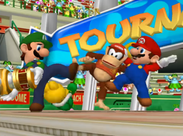 Mario Power Tennis Koopa, Luigi, Diddy, mario