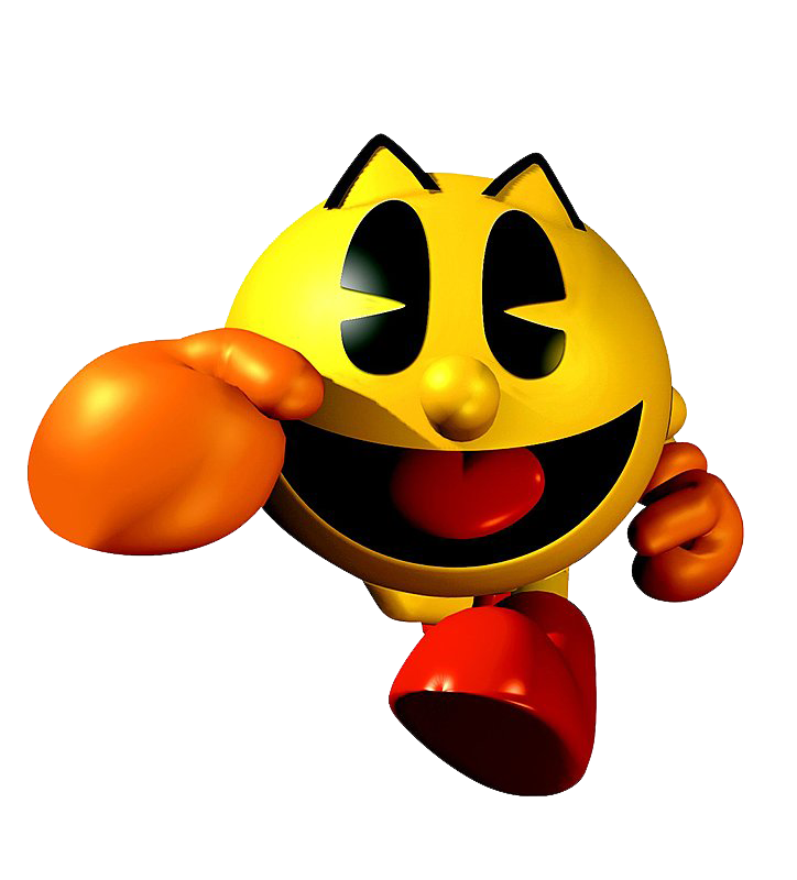 It is a picture of Exhilarating Pac Man Render