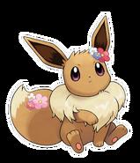 Pokémon Let's Go, Pikachu! and Let's Go, Eevee! - Character Artwork - Eevee 04