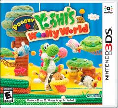 Poochy & Yoshi's Woolly World - NA Boxart