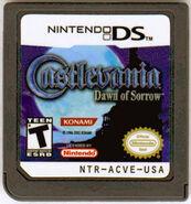 Castlevania Dawn of Sorrow- Cardrige