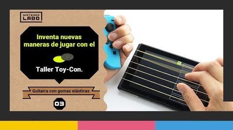 Flashangel/Descubre cómo inventar tu propia guitarra con el taller Toy-Con de Nintendo Labo