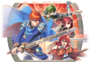 Fire Emblem Heroes - Summoning Banner - Battling Michalis