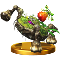 Trofeo de Islote zancudo SSB4 (Wii U)