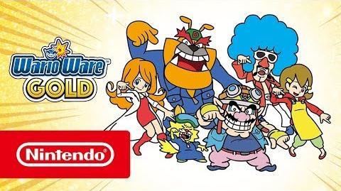 WarioWare Gold – Tráiler de lanzamiento (Nintendo 3DS)