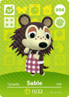 Animal Crossing Amiibo Card 004