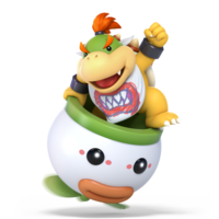 Super Smash Bros. Ultimate - Character Art - Bowser Jr.