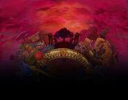 The Legend of Zelda Majora's Mask 3D - Background artwork 01