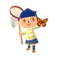 Animal Crossing - Pocket Camp - Character Artwork - Player - Girl 06