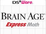 Brain Age Express: Math