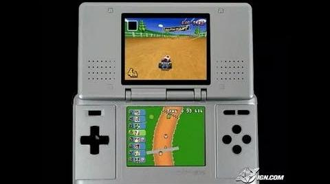 Mario Kart DS Nintendo DS Gameplay - E3 2005 Footage