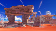 Super Mario Odyssey - Background Artwork - Sand Kingdom