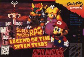 Super Mario RPG Portada