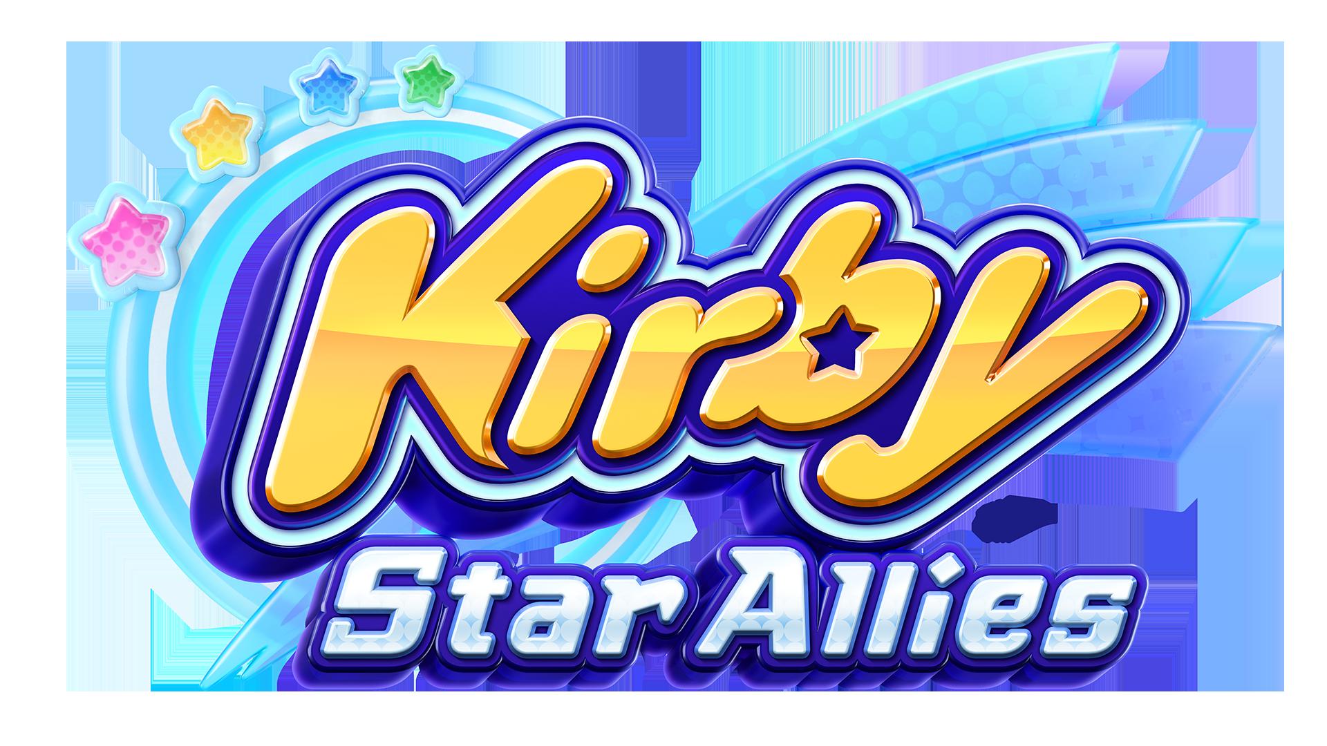 Resultado de imagem para kirby star allies logo png