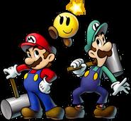 Mario Luigi Starlow Artwork - Mario and Luigi BiS