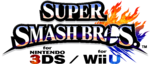 Super Smash Bros 3DS Wii U logos
