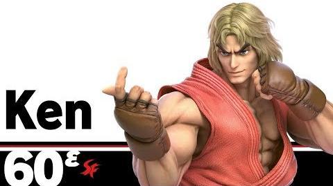 60ᵋ- Ken – Super Smash Bros. Ultimate