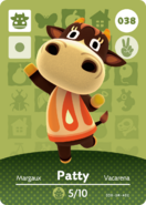 Amiibo - Card - Animal Crossing - Patty