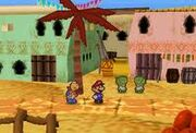 Dry Dry Oupost Paper Mario
