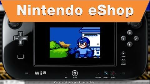Nintendo eShop - Mega Man 5 on the Wii U Virtual Console