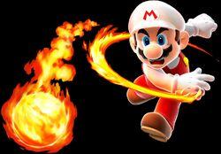 SMG Fire Mario