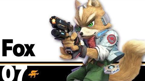 07- Fox – Super Smash Bros. Ultimate