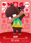Animal Crossing Amiibo Card 070