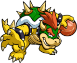 Bowser Artwork - Mario Hoops 3-on-3
