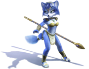 Krystal Artwork 1 - Star Fox Adventures