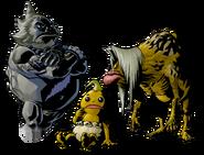 The Legend of Zelda Majora's Mask 3D - Character artwork 47