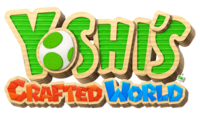 Yoshi's Crafted World logo
