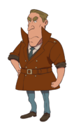 Layton's Mystery Journey Katrielle and the Millionaires' Conspiracy - Inspector Ercule Hastings