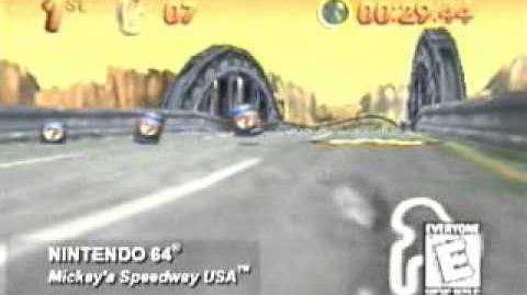 Mickey's Speedway USA Promotional Trailer