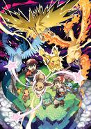 Pokémon Let's Go, Pikachu! and Let's Go, Eevee! - Legendary PR art