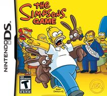 The Simpsons Game NDS (NA)