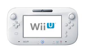 Wii-U GamePad white