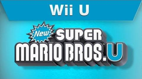 Wii U New Super Mario Bros