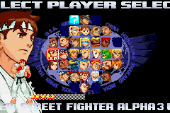 Street Fighter Alpha 3 Upper (roster)